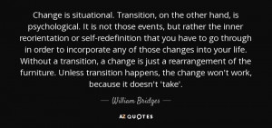 William Bridges Quotes