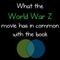 What the World War Z movie has in common with the book