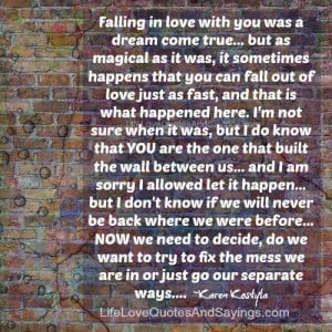 Falling In Love With You..