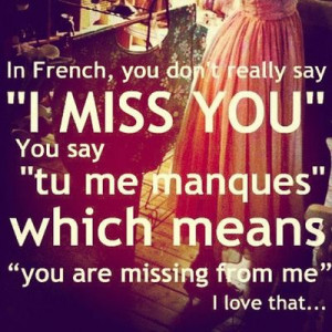 I Love You Quotes In French : French I Love You Quotes. QuotesGram