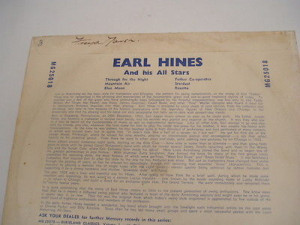 Earl Hines & His All Stars - 10