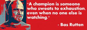 Bas Rutten on Champions