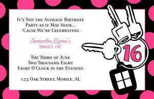 Birthday (Adult & Teen) - Invitations & Announcements