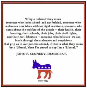 JFK and Moni Are Liberals