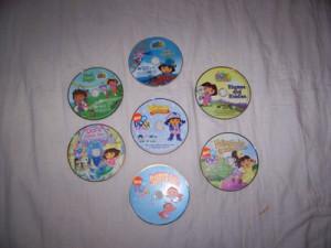 Dora The Explorer Meet Diego DVD