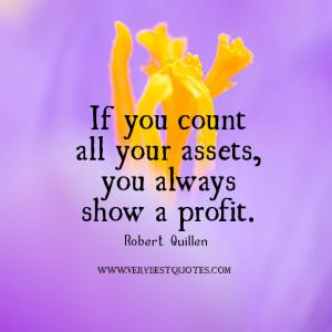 gratitude quotes, profit quotes