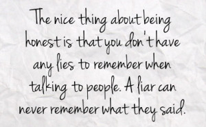 Picture Quotes about Honest - Quotes Lover
