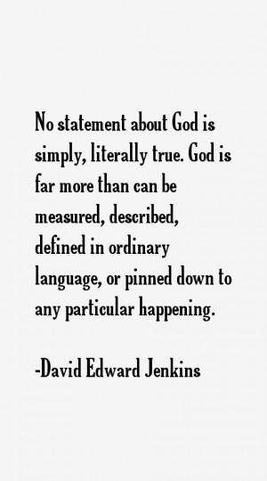 David Edward Jenkins Quotes & Sayings