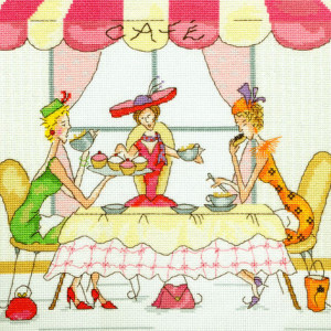 ... The High Tea party for an afternoon of finger food and facials