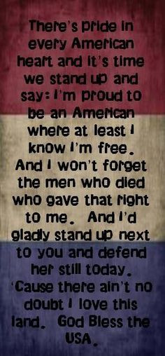 Lee Greenwood lyrics Please God, forgive us for allowing the left to ...