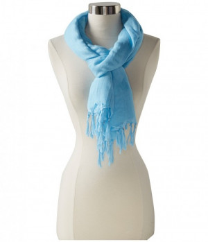This is a knot tassel linen hand yoga scarf from Love Quotes, a ...