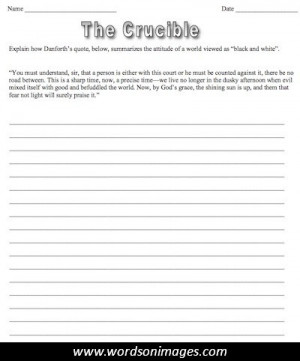 The crucible quotes