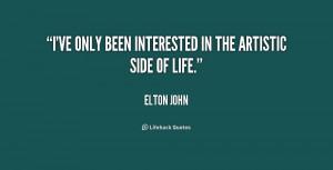 Elton John Quotes About Life