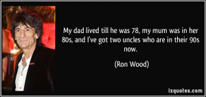 More Ron Wood Quotes