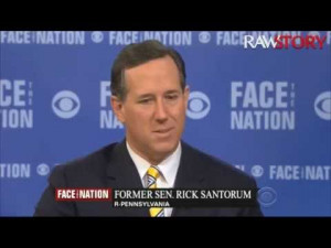 Rick Santorum quotes 'God Hates Fags' slogan on national TV to ...