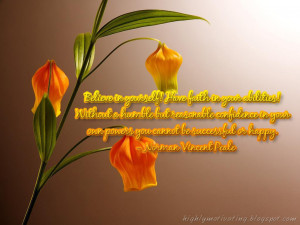 Motivational Wallpaper - Norman Vincent Peale Quote