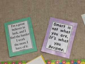moving from a fixed mindset to a growth mindset