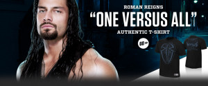 Roman Reigns WWE Logo T Shirt