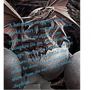 Saphira Quote