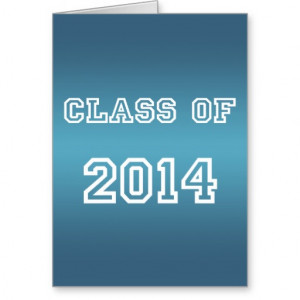 Class of 2014 Graduation - Graduate '14 Student Stationery Note Card