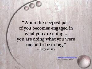 Gary Zukav.