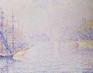 paul signac le port de marseille brume matinale description paul