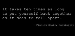 black, hunger games, quote