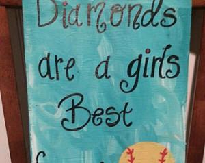 Softball Quotes For Best Friends Best friend - softball