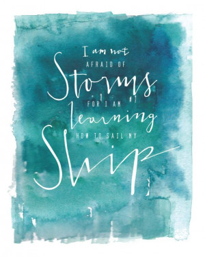 ... Art 8x10 Print Learning to Sail My Ship by KristinsPaperie, $16.00