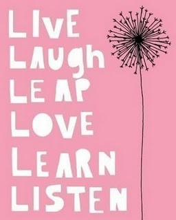 Lessons to live by