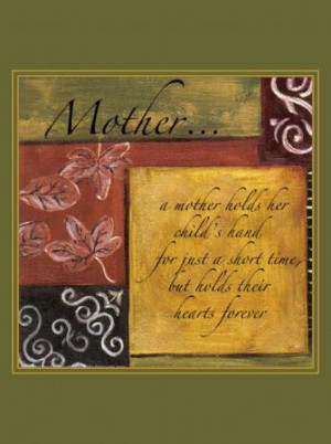 ... about Canvas art print MOTHER IS INSPIRATION - Spiritual Quotes