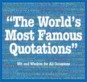 Good Quotations by Famous people, famous quotes and sayings, famous ...