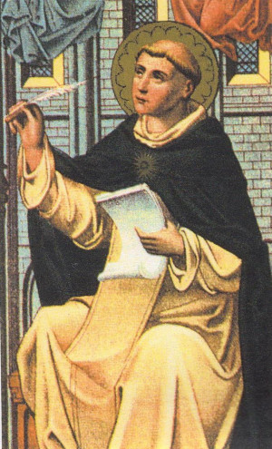 Pope Benedict on Saint Thomas Aquinas