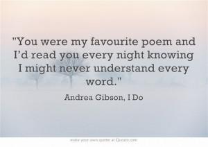 Andrea Gibson, I Do