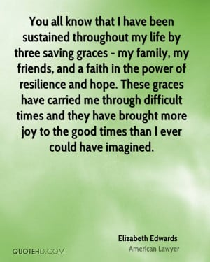 graces - my family, my friends, and a faith in the power of resilience ...