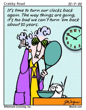 "on aging "" width=""500″ height=""400″ /> Maxine Cartoons"