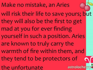As a girl with an Aries boyfriend, I know this to be very true