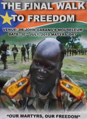 ... Sudan kutokaUganda ambako alikutana na rais Yoweri Kaguta Museveni