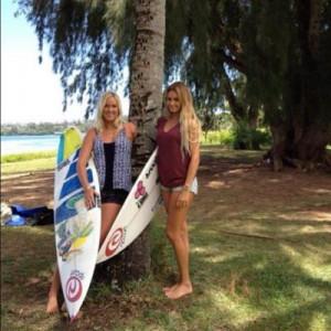 Soul Surfer Bethany Hamilton And Alana Blanchard