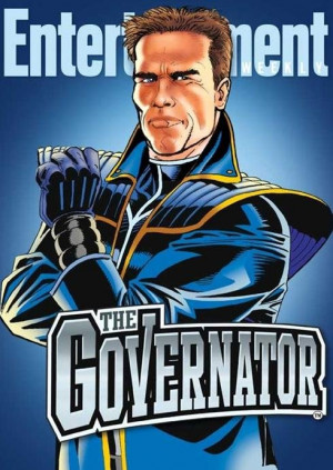 Here's Arnold Schwarzenegger on the Governator movie: