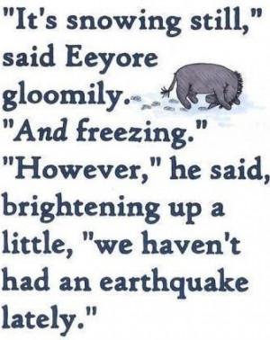 Eeyore Birthday Quotes...