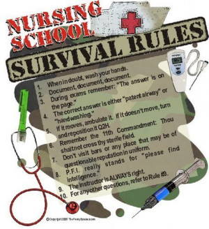 Nursing School Survival Tips