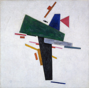 Kazimir Malevich, Untitled , ca. 1916. Oil on canvas, 53 x 53 cm ...