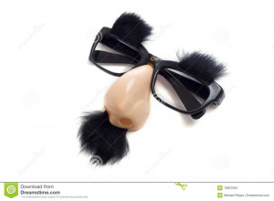 Stock Images: Groucho Glasses - Funny Glasses