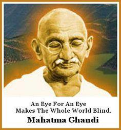 gandhi quotes on war 4 google search more mahatma gandhi inspiration ...