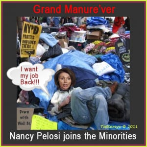Nancy Pelosi Joins OWS Protestors
