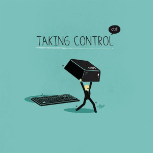Control, Quotes, The Weekend, Illustration, Posters Design, Digital ...
