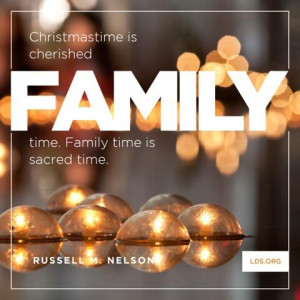 """SOS: """"Family Time is Sacred Time,"""" or """"Merry Christmas to All ..."""