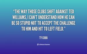 Ty Cobb Quotes