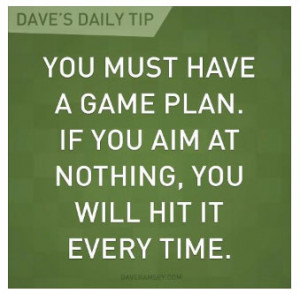 Dave-Ramsey-Game-Plan-Quote